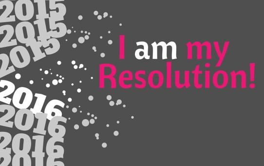 I am my Resolution!